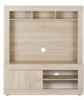Opzet TV-meubel Joost – Eikenkleur – 102x140x37 Cm