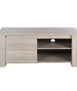 TV-meubel Yannick – Grijs Eikenkleur – 51x130x51 Cm