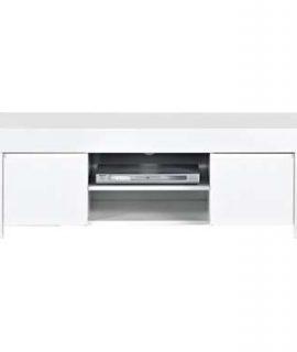 TV-meubel Amalfi – Hoogglans Wit – 45x140x50 Cm