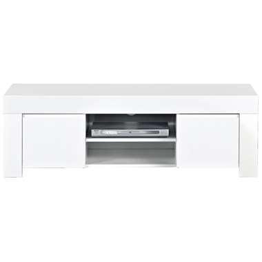 TV-meubel Amalfi - hoogglans wit - 45x140x50 cm