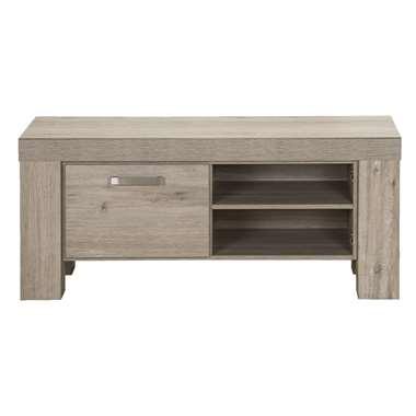TV-meubel Mick - lichtbruin eiken - 57x132x50 cm