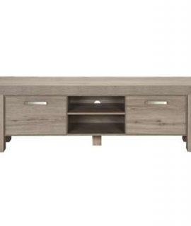 TV-meubel Mick – Lichtbruin Eiken – 57×182,5×50 Cm