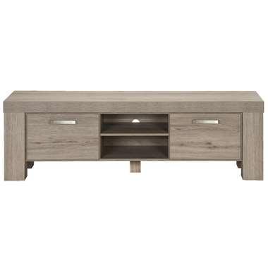 TV-meubel Mick - lichtbruin eiken - 57x182