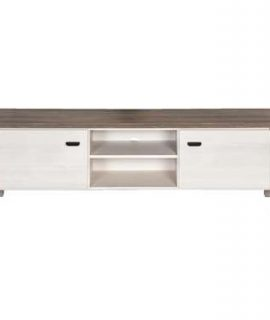 TV-meubel Lynn – Wit Eikenkleur – 52x170x50 Cm