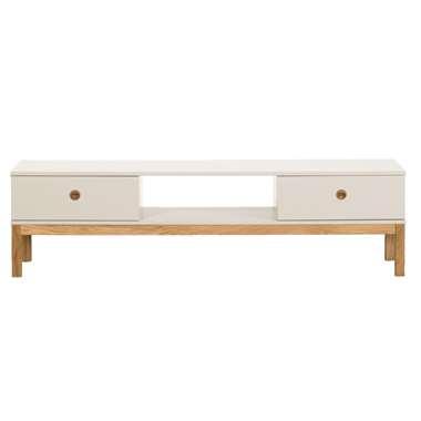 TV-meubel Valencia - lichtgrijs - 46x169x49 cm