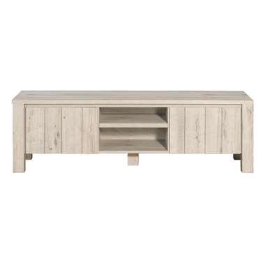 TV-meubel Jens - grijs eiken - 52x168x50 cm