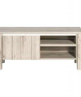 TV-meubel Jens – Grijs Eikenkleur – 52x118x50 Cm