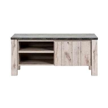 TV-meubel Jens - grijs - 52x118x50 cm