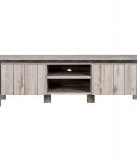 TV-meubel Jens – Betonkleur – 52x168x50 Cm