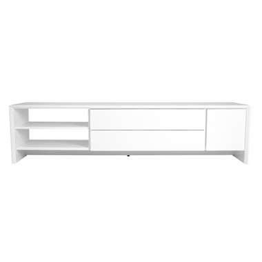 Tenzo TV-meubel Profil - wit - 44x180x47 cm