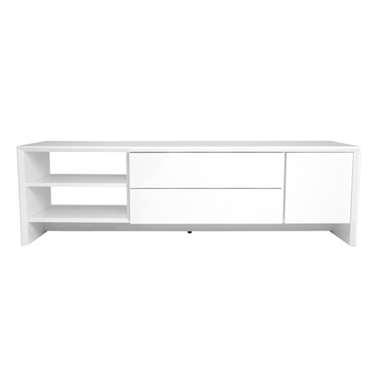 Tenzo TV-meubel Profil - wit - 44x150x47 cm