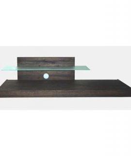 TV-meubel Mestre – Wengé – 51x200x51 Cm