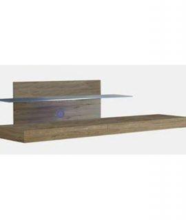 TV-meubel Mestre – Honingkleur – 51x200x51 Cm