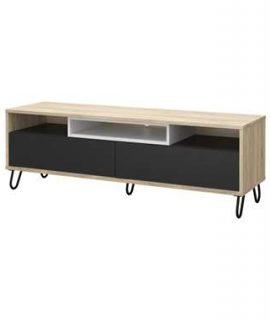TV-meubel Uldum – Eikenkleur – 139x40x46 Cm