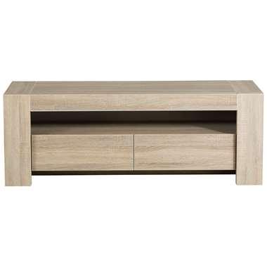 TV-meubel Logan - eiken - 143x51x49 cm
