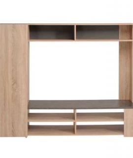 TV-meubel Jackson – Eiken – 166x138x41 Cm