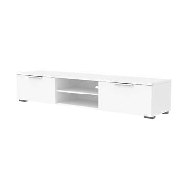 TV-meubel Uldum - hoogglans wit - 33