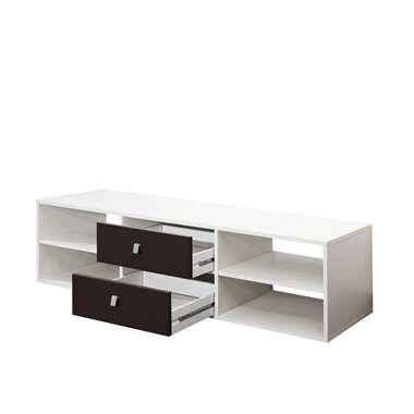 Symbiosis TV-meubel Kviljo - wit/zwart - 37