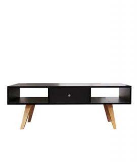 Symbiosis TV-meubel Sindal – Zwart – 42,4x117x40 Cm