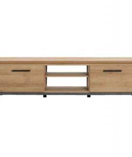 TV-meubel Finn – Licht Eikenkleur – 52x188x40 Cm