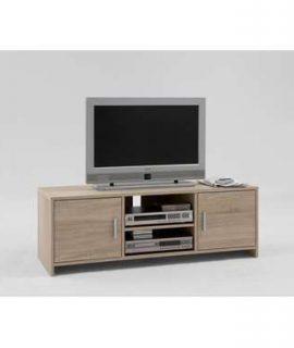 TV-meubel Poldi – Eikenkleur – 46,5x134x44,5 Cm