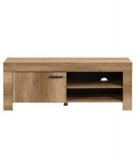 TV-meubel Lidia – Eikenkleur – 53x140x42,5 Cm