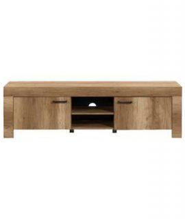 TV-meubel Lidia – Eikenkleur – 56x180x43 Cm