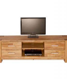 TV-meubel Wouter 4 Lades – Eikenkleur – 47x150x44 Cm