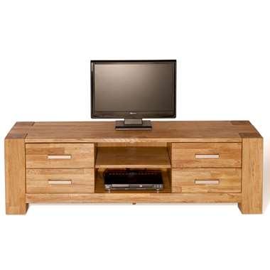 TV-meubel Wouter 4 lades - eikenkleur - 47x150x44 cm