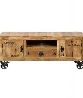 TV-meubel Guus – Bruin – 55x140x40 Cm