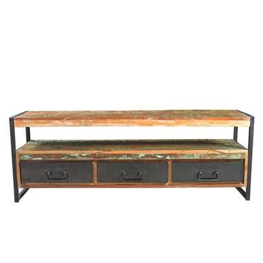TV-meubel Lucas - multikleur - 55x155x40 cm