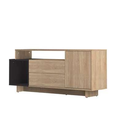 Symbiosis TV-meubel Kube - eikenkleur/zwart - 59