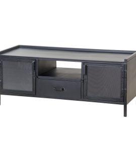 Tv-meubel 'Eleonora Industrieel' Met 2 Deuren En 1 Lade