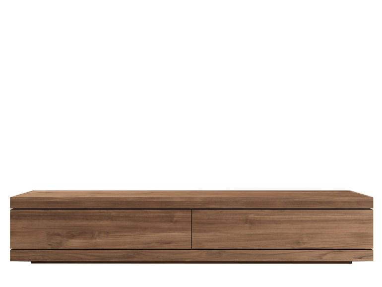 Ethnicraft burger tv cupboard teak tv meubel medium