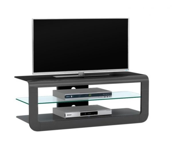 Monny Tv meubel - Hoogglans zwart