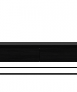Ethnicraft Monolit TV Cupboard Black Tv-meubel