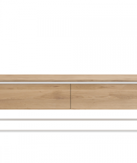 Ethnicraft Monolit TV Cupboard Tv-meubel-Wit