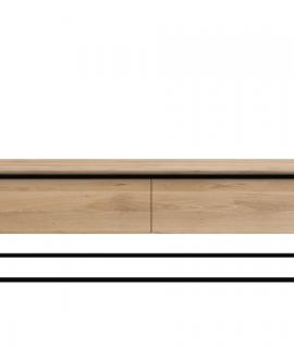 Ethnicraft Monolit TV Cupboard Tv-meubel-Zwart
