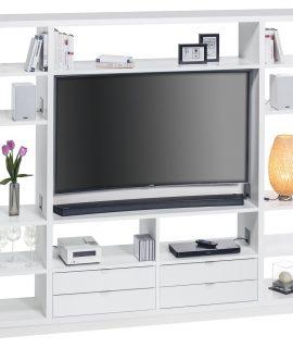 Open Tv Meubel Frances 220 Cm Breed – Wit