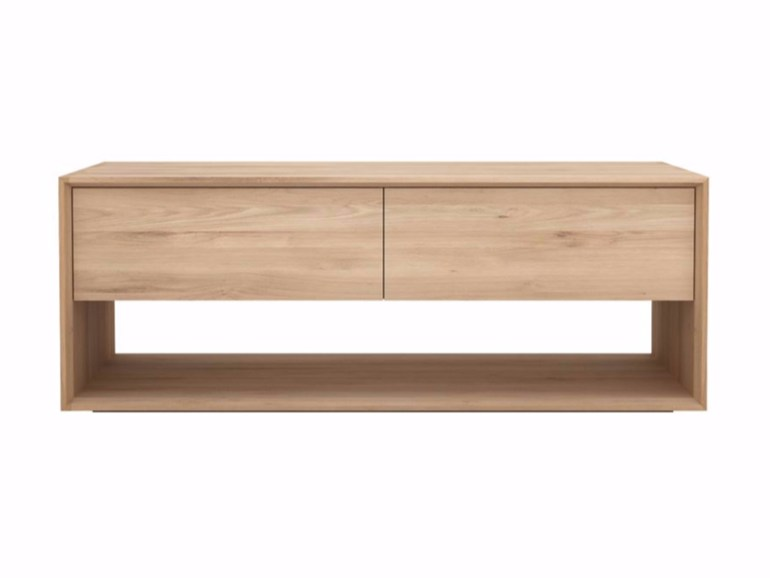 Smalle Tv Meubel : Ethnicraft nordic tv cupboard eiken tv meubel small