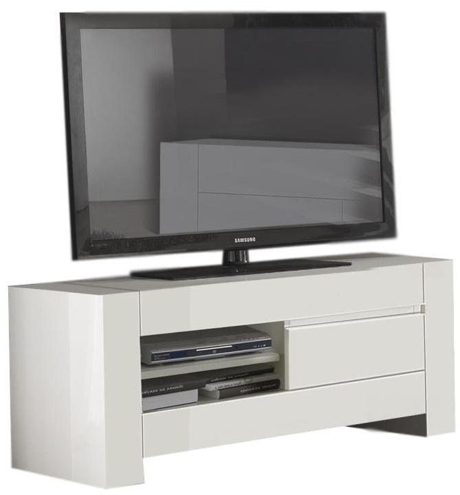 Samsung Tv Met Meubel.Tv Meubel Bianca 150 Cm Breed Hoogglans Wit Tvdesignmeubel Nl