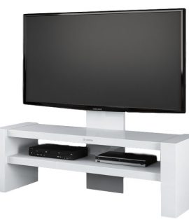 Tv Meubel Davos 138 Cm Breed – Hoogglans Wit