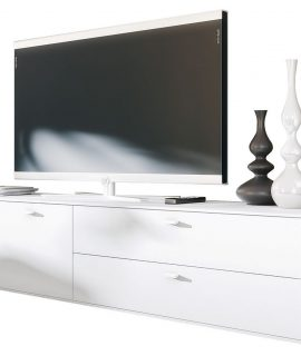 Tv Meubel Design 182 Cm Breed – Wit