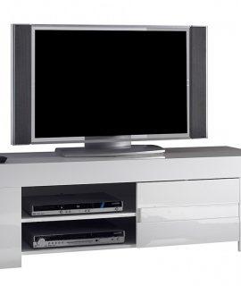 Tv Meubel Esso 140 Cm Lang – Hoogglans Wit