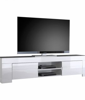 Tv Meubel Esso 190 Cm Lang – Hoogglans Wit