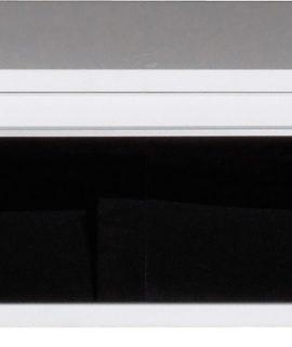 Tv Meubel Freestyle 98 Cm Breed – Zwart Met Wit