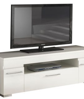 Tv Meubel Kristal White 151 Cm Breed – Hoogglans Wit