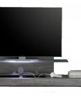Tv Meubel Mexy 200 Cm Breed – Grijs Eiken