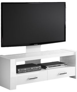 TV Meubel Monaco 138 Cm Breed – Hoogglans Wit