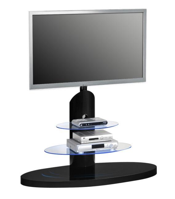 Tv meubel Nexus - Hoogglans Zwart